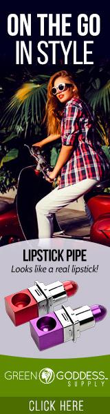 Lipstick Novelty Pipe