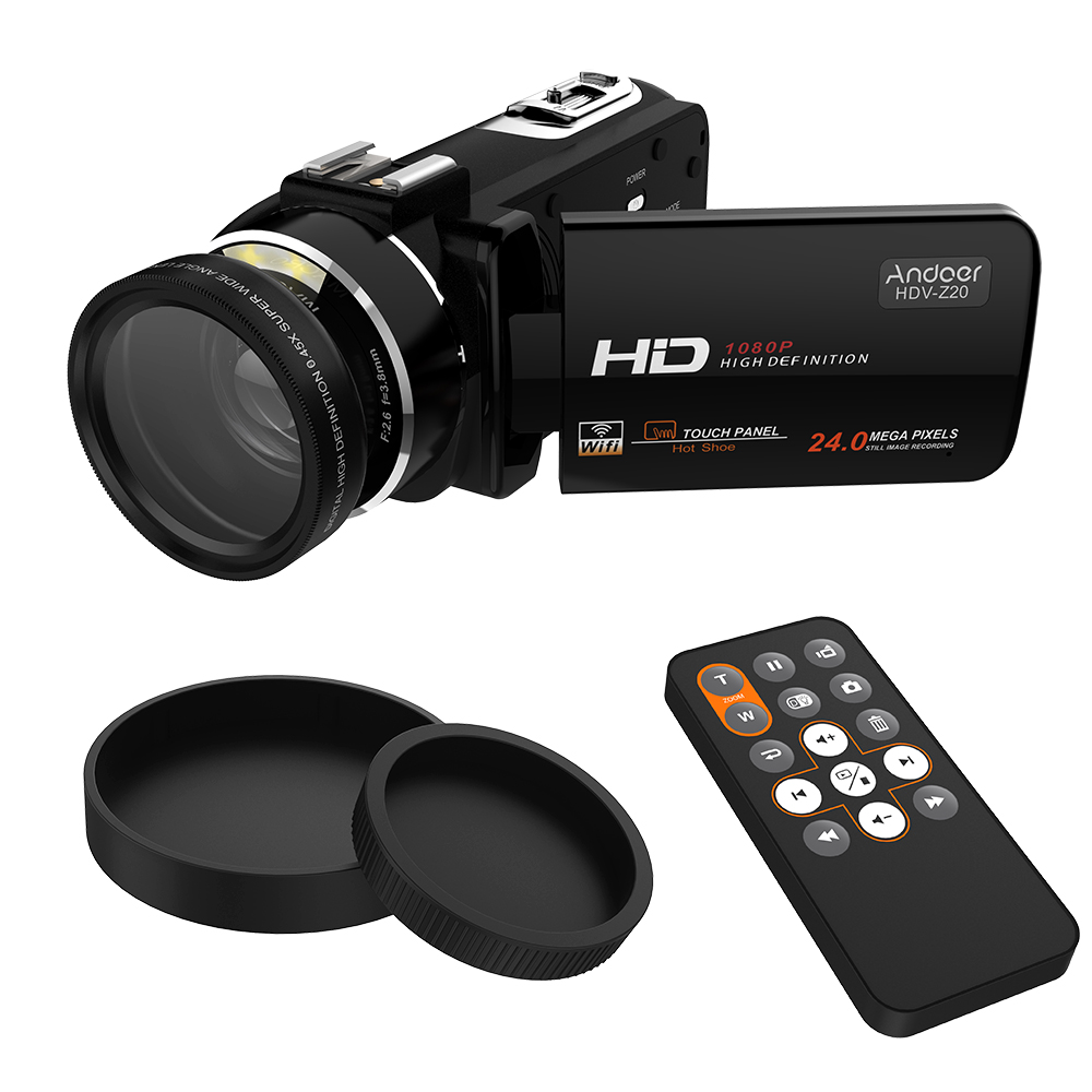 $10 discount for Andoer HDV-Z20 Portable 1080P Full HD Digital Video Camera only $119.99
