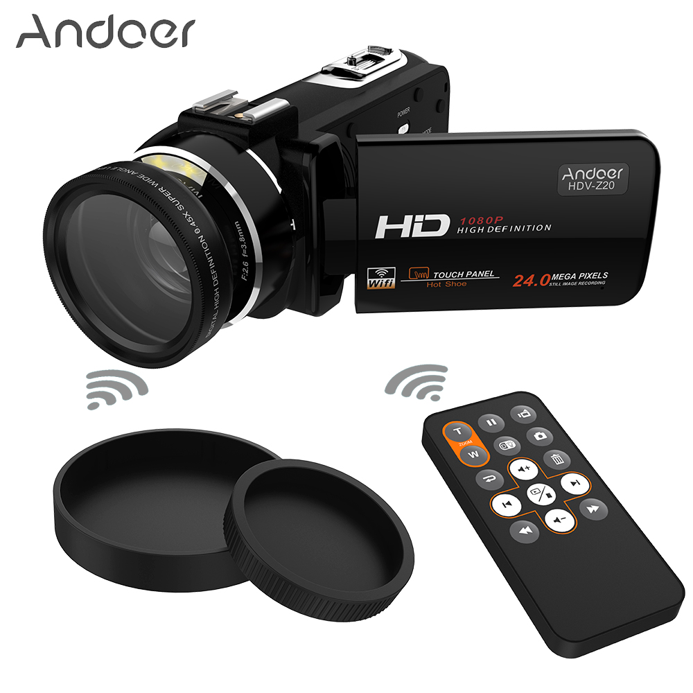 Get Extra 22% Off Andoer HDV-Z20 Portable 1080P Full HD Digital Video Camera