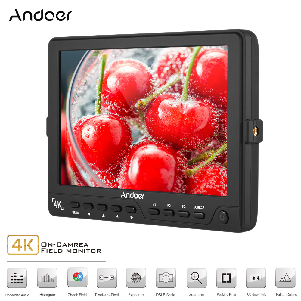 Get Extra 18% Off Andoer S7 Professional 7 inch On-Camera Field Monitor