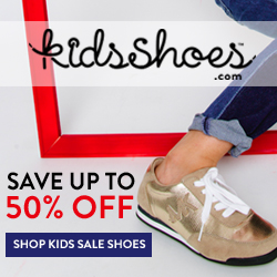 Save up to 50% at KidsShoes.com