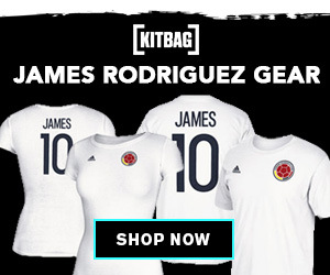 Shop for James Rodriguez Kits, Fan Gear and Collectibles at Kitbag-US