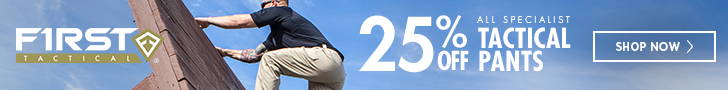 25% Off - Tactical Pants