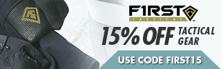 15% OFF First Tactical