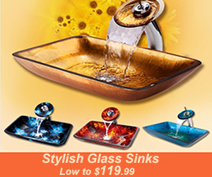 Low to $119.99 on Stylish Glass Sink Set. Buy Good Quality and Cheap Faucets here.