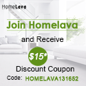 Join HomeLava Happy Shopping Family Now and Receive US$15 Discount Coupon ! (code:HOMELAVA131652)