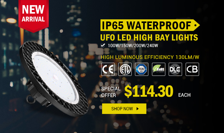 off LED UFO High Bay Light Was $878 48 Now $399 31