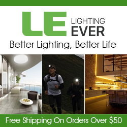 Better Lighting online at lightingever.com, Free shipping $50