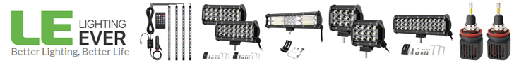 Save up to 67% on off-road light bar, car decorative LED strips, vehicle headlight at lightingever.com