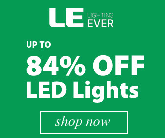 Up to 84% Off LED lights and fixtures online at lightingever.com
