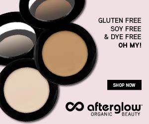 Afterglow Cosmetics - Gluten Free, Soy Free, Dye Free