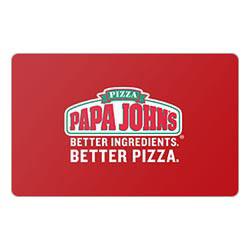 Papa Johns Gift Card Deals