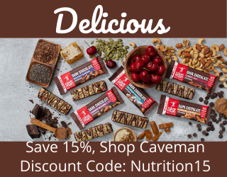Save today on Caveman Foods