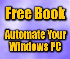 Free Windows Automation E-Book