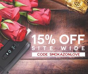 Smokazon.com - 15% OFF Site Wide this valentines