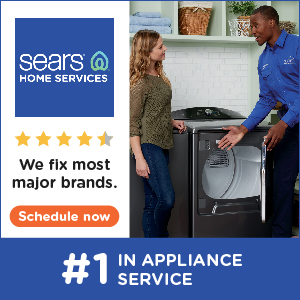 Sears Home Services | #1 in Appliance Service! | We fix most major brands. | Schedule Now!