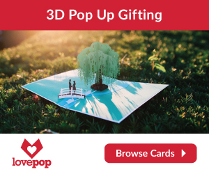 Get your loved ones incredible 3D Cards