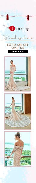 tidebuy romantic and unique wedding dresses