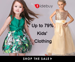 Tidebuy Kid Clothing up to 79% off+Extra 15 off over $50, Shop Now!