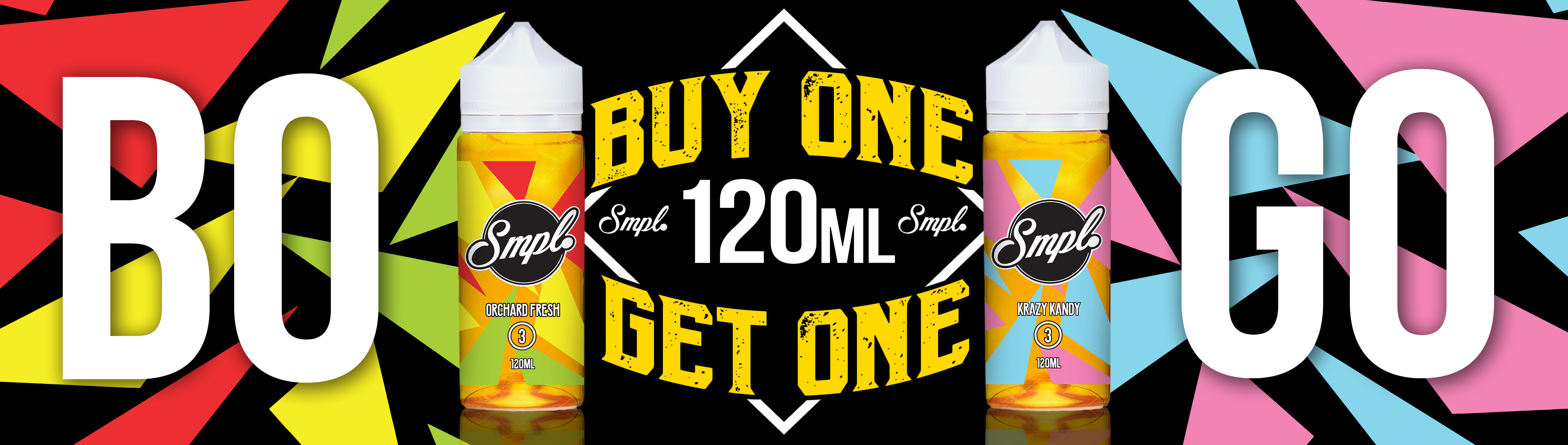 Buy One 120ML Get One 120ML FREE - Only $22