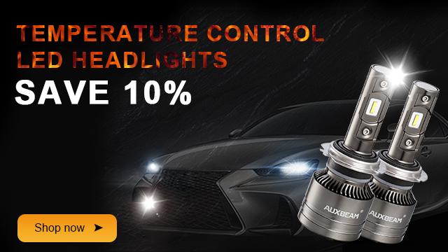 10% off led headlights