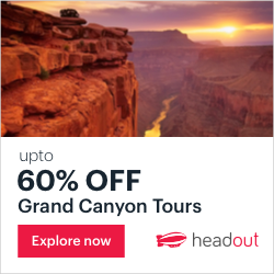 Get Last-Minute Discounts upto 60% on Grand Canyon Tours. Book Now on Headout!