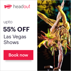 Get Last-Minute Discounts up to 55% on the Best Shows in Las Vegas. Book Now on Headout!
