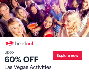 Get Last-Minute Discounts upto 60% on the best Activities in Las Vegas. Book Now on Headout!