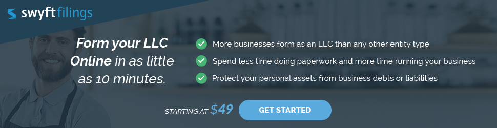 Form Your LLC Online in as little as 10 minutes.