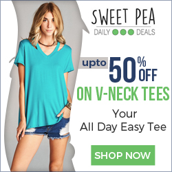 Up to 60% OFF on V Neck Tees