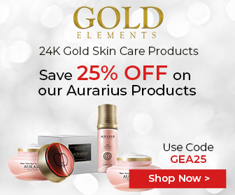 Goldelements-usa.com Save 25% OFF Site Wide on all Aurarius Products, Use Code: GEA25