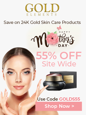 Goldelements-usa.com Save 55% OFF Site Wide on Mother's Day