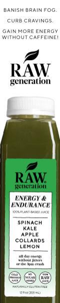 Raw Generation - Energy & Endurance Juice
