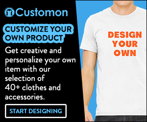 Custom t-shirts and accessories