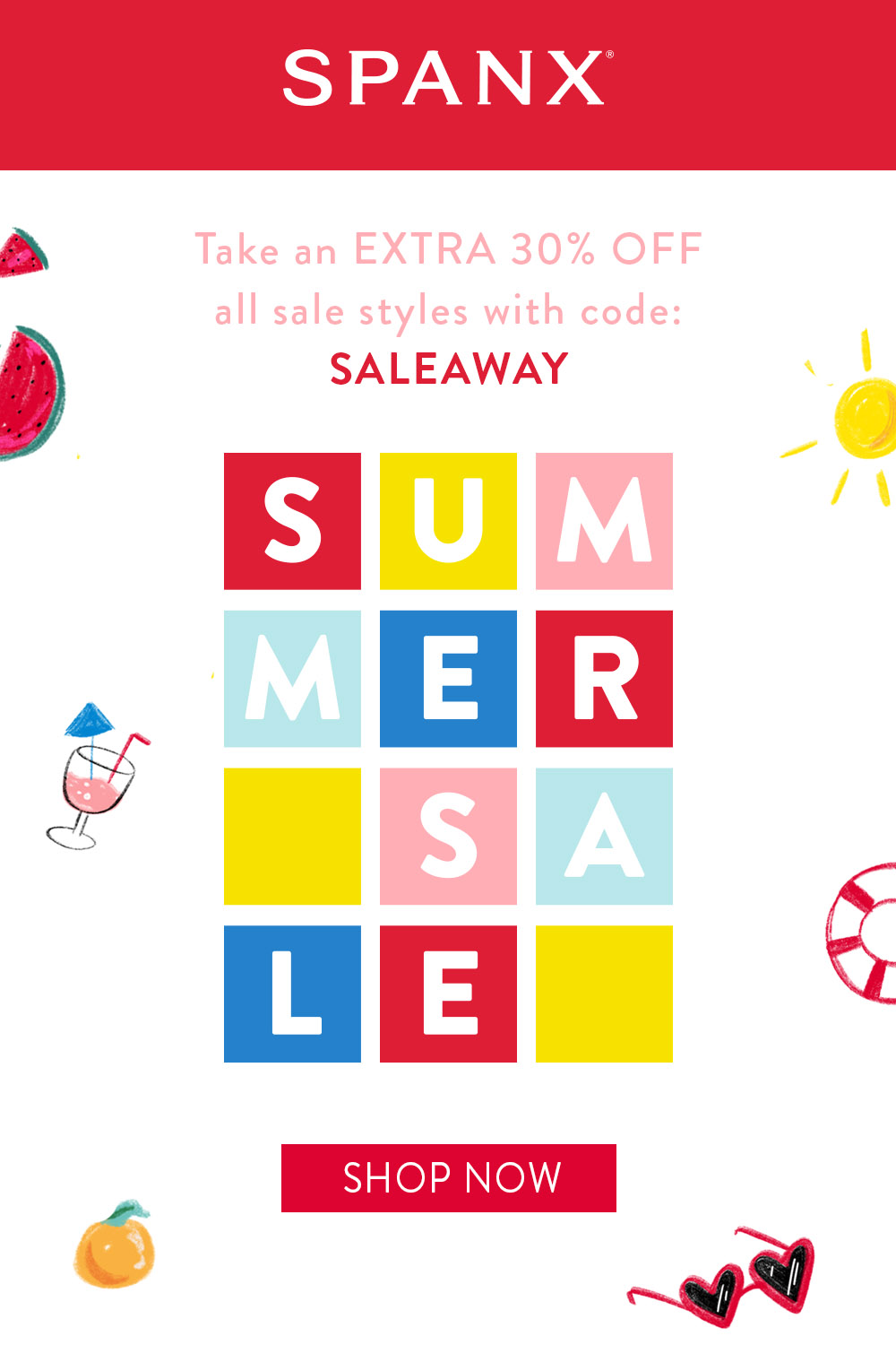SPANX Summer Sale