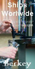 berkey water filter shipping internationally