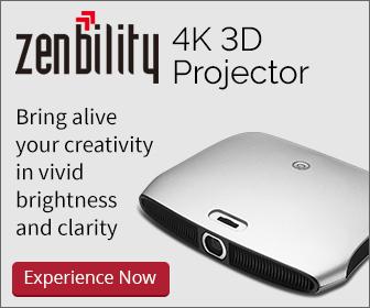 zenbility 4K 3D Projector