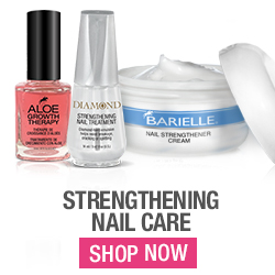Shop Barielle's strengthening nail care products today for stronger, healthier nails.