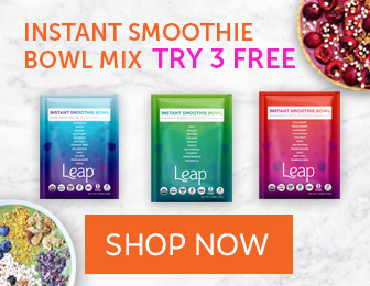 Leap Organic Fruit & Vegetable Smoothies
