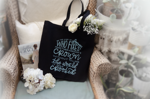 Free Crown Tote With Bella Grace Subscription