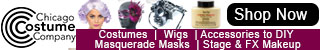Shop costumes, wigs, Accessories, Masquerade Masks, Makeup & More!