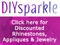 Click for discounted rhinestones, appliques and jewelry