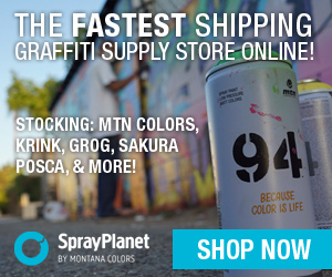 Spray Planet - The premier online graffiti supply store