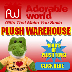 Adorable World 1000's of Plush Toys