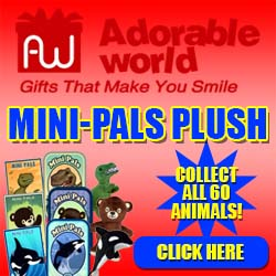 Adorable World Mini-Pals Plush Animals