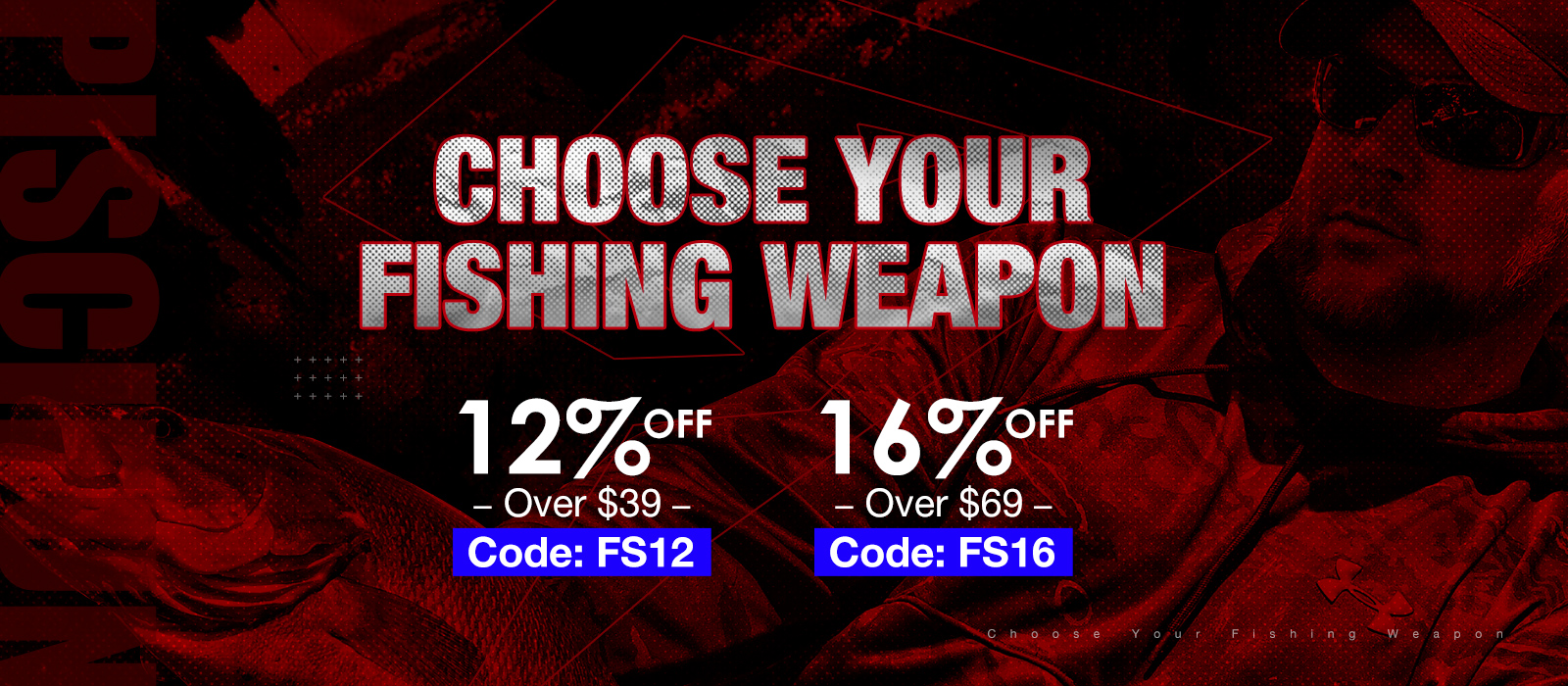 Up tp 16% off on Piscifun Fishing Gear