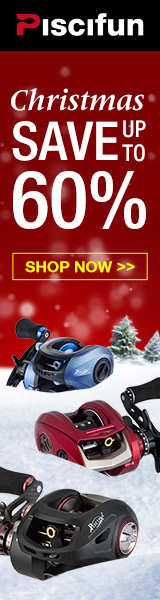 Save up to 60%, Piscifun X-MAS SALE, super smooth fishing reels