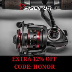 Fishing Reel Special Offer Piscifun Honor Spinning Reel. Smooth and reliable