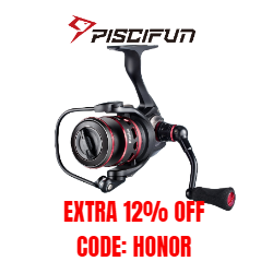 Clearance! Piscifun Honor Spinning Reel. Smooth, lightweight and durable