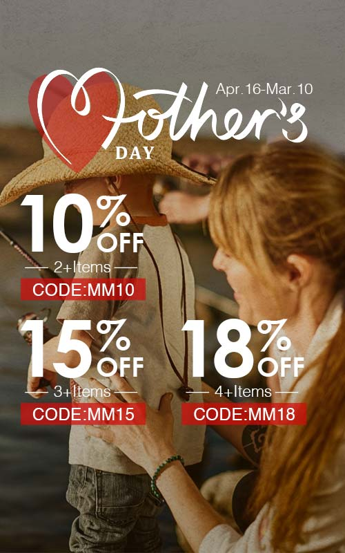 15% off Over 3 Terms on Piscifun Mother's Day Deal